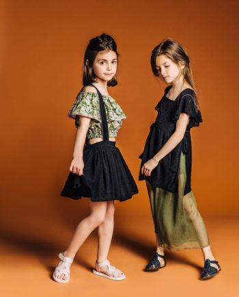 Chiffon Culottes Olive Style