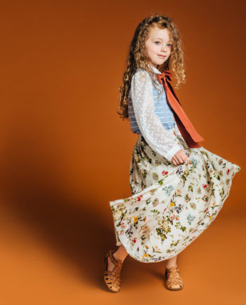 Long Skirt Secret Garden and Blouse Mirage