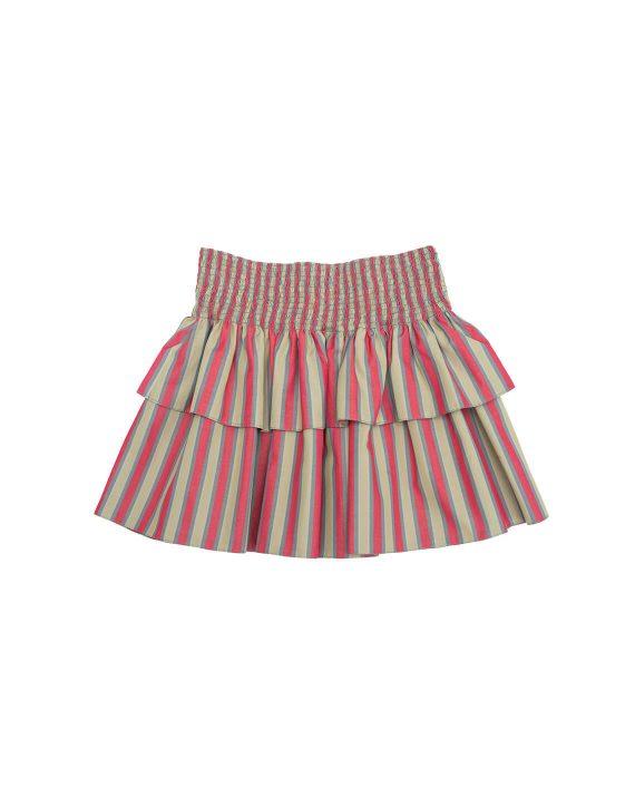 Cotton Skirt Olive Grove