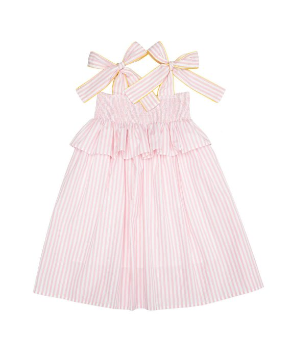 Cotton Dress Willow with Ties