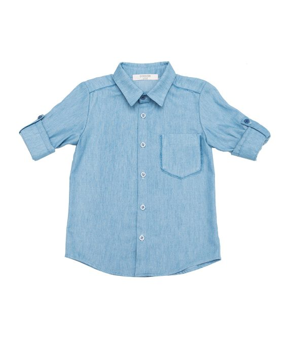 Denim Shirt Brunnea