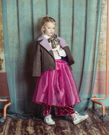 Chiffon Skirt Alice Pink