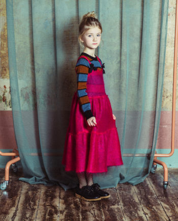 Mohair Dress Vasilisa Hot Pink