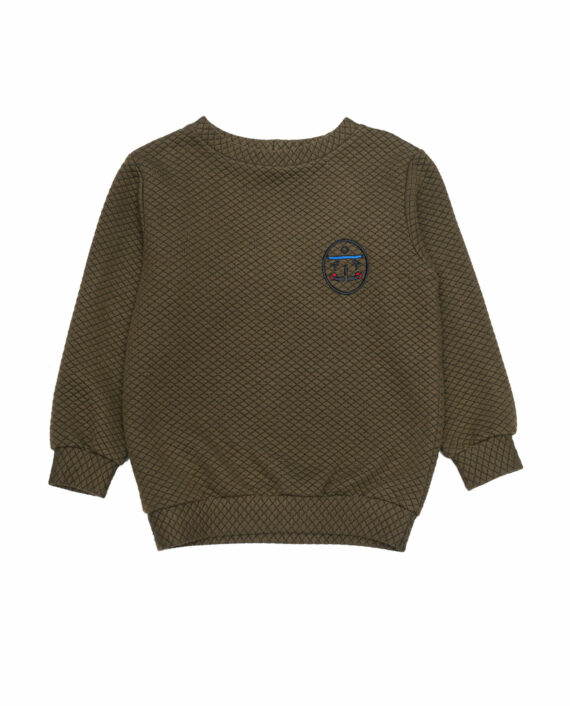 Jersey Sweater Max Olive