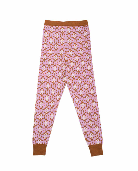 Merino Pants Charlie Lilac