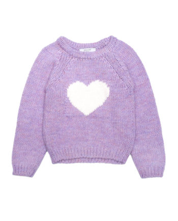 Alpaca Sweater Nutcracker Lilac
