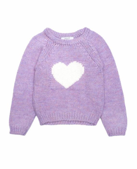 Alpaca Sweater Nutcracker Lilac