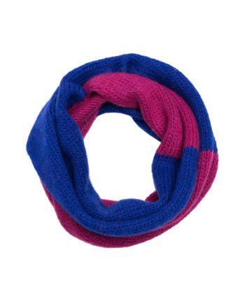 Alpaca Snood Nutcracker Raspberry