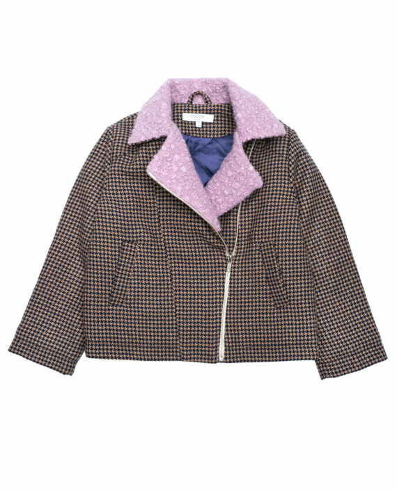 Wool Perfecto Jacket Paddington