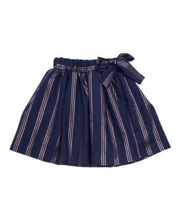 Crepe Skirt Dorothy Blue
