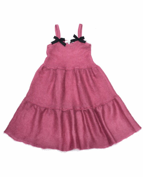 Mohair Dress Vasilisa Old Pink