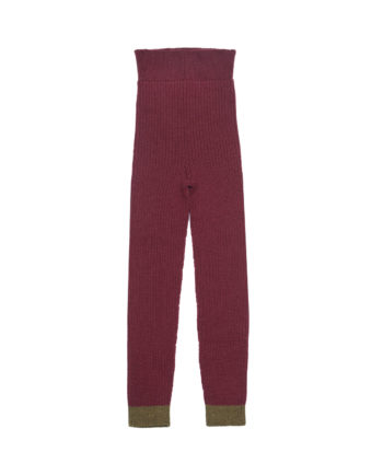 Merino Leggings Charlie Dark Red