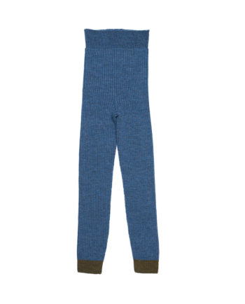 Merino Leggings Charlie Blue