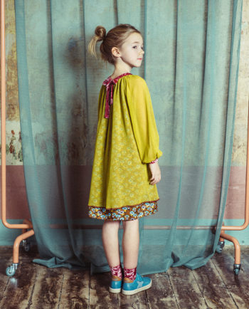 Tulle Dress Emily Green with Ties