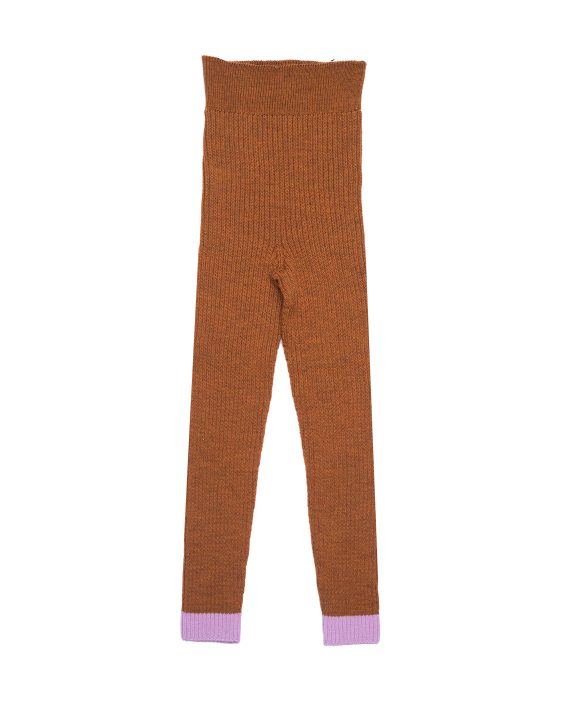 Merino Leggings Stuart Orange