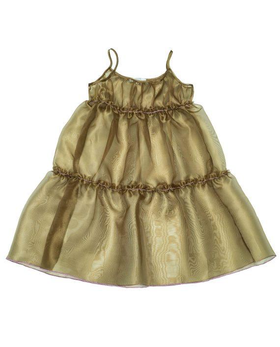 Chiffon Slip Dress Alice Green