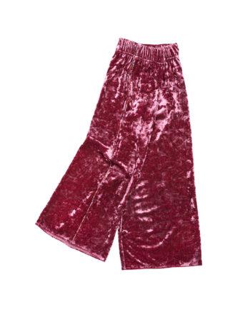 Velvet Culottes Matilda Pink