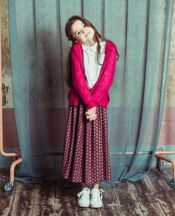 Viscose Skirt Lottie Purple