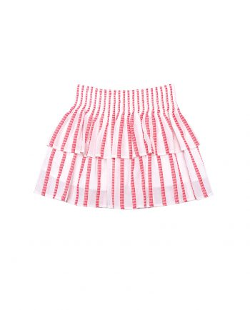 Cotton Skirt Scallop