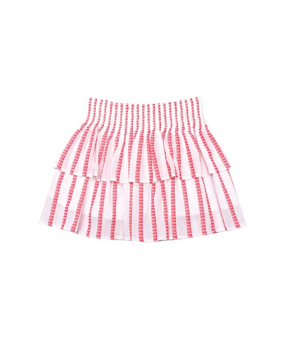 Cotton Skirt Scallop