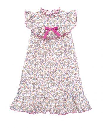 Cotton Long Dress Alice