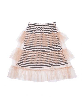 Tulle Skirt Blanche