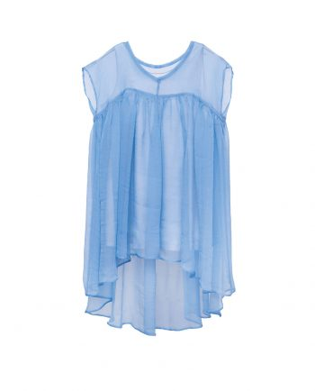 Chiffon Dress Azur