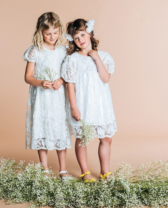 Embroidered Dress Pearl
