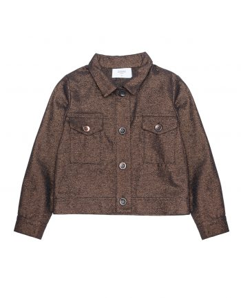 Lurex Jacket Freddie Bronze