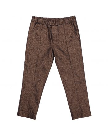 Lurex Trousers Freddie Bronze