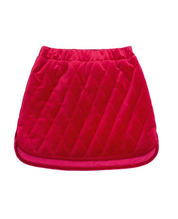 Velvet Skirt Huston Red