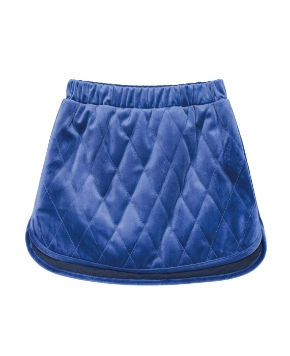 Velvet Skirt Huston Blue
