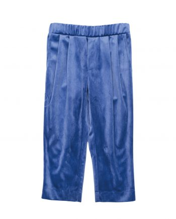 Velvet Trousers Huston Blue