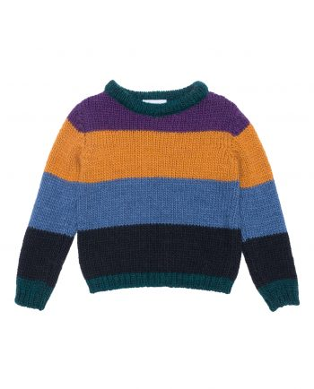 Alpaca Sweater Morrison Purple