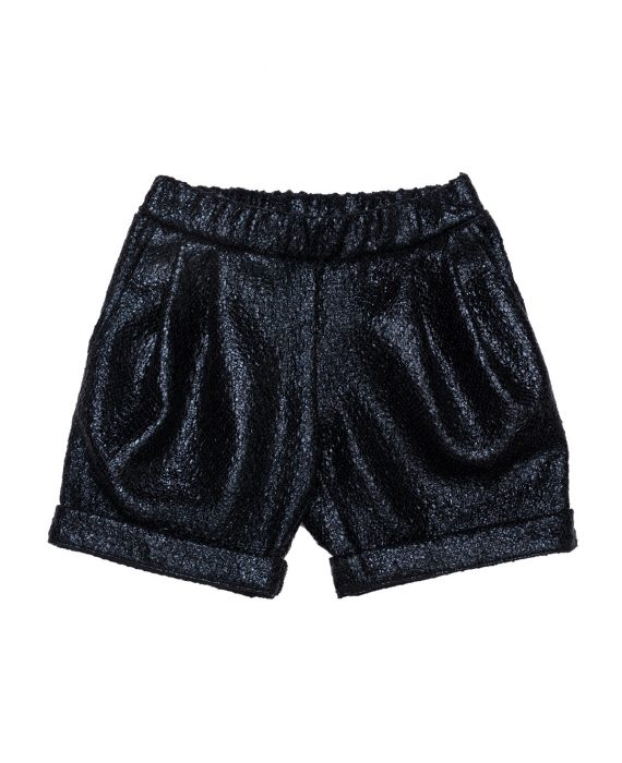 Faux Leather Shorts Cher
