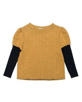 Jersey Girls' Sweater Johnny Yellow