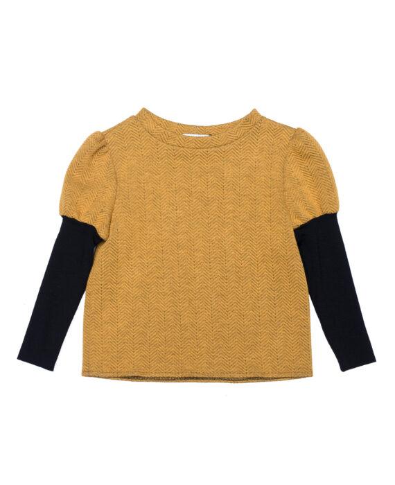 Jersey Girls' Sweater Johnny Yellow