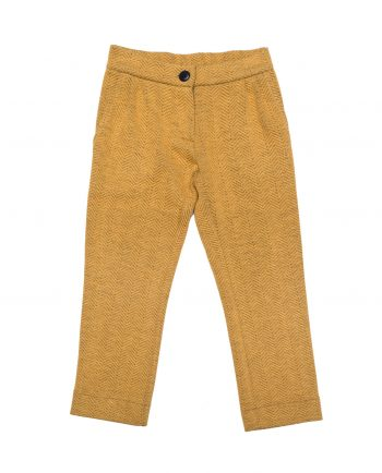 Jersey Trousers Johnny Yellow