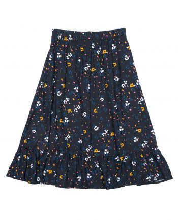 Viscose Skirt Johnny Black