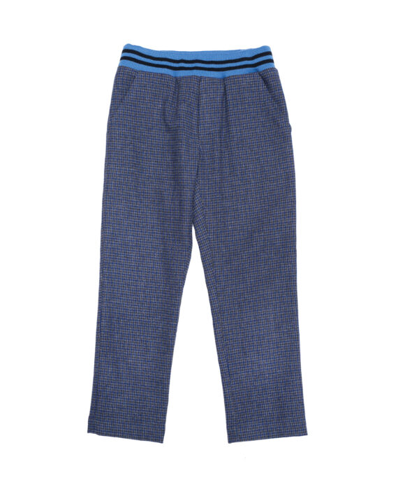 Wool Cigarette Trousers Bruno