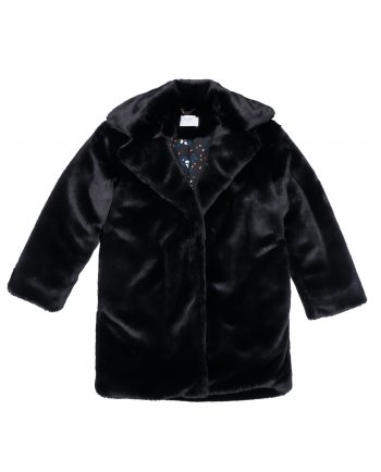 Faux Fur Coat Joplin Black