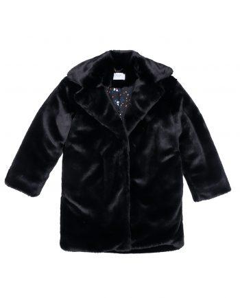 Faux Fur Coat Joplin Black