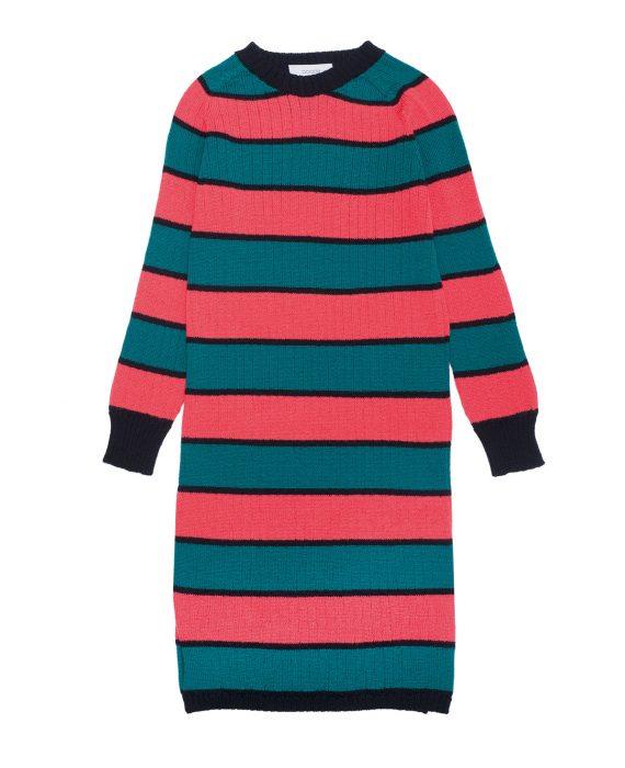 Merino Dress Robbie Green