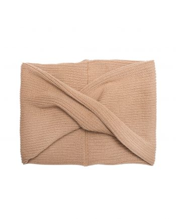 Merino Snood Robbie Tan