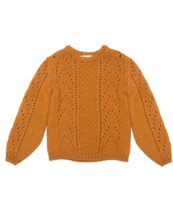 Alpaca Sweater Florence Mustard