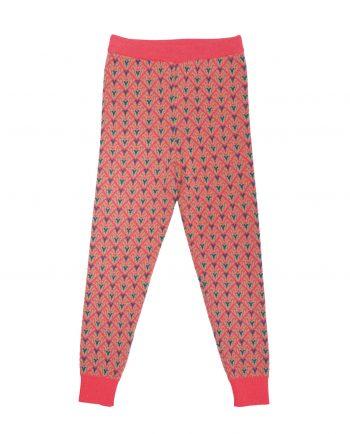 Merino Trousers Robbie Pink