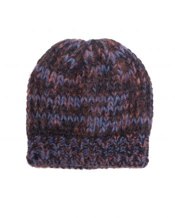 Alpaca Hat Harris Blue