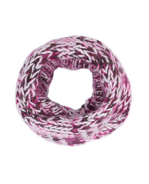 Alpaca Snood Harris Pink