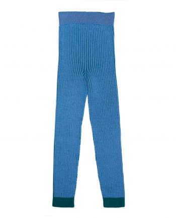 Merino Leggings Robbie Blue