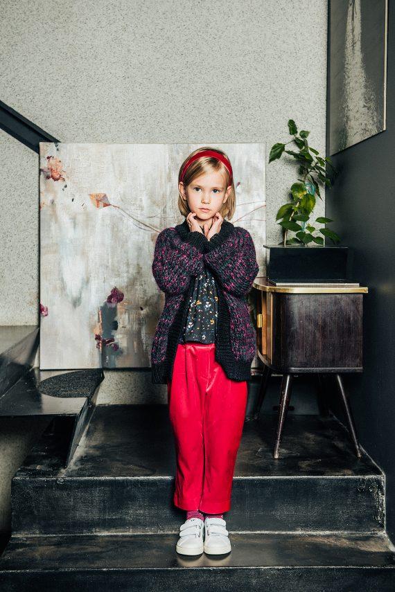 Velvet Trousers Huston Red
